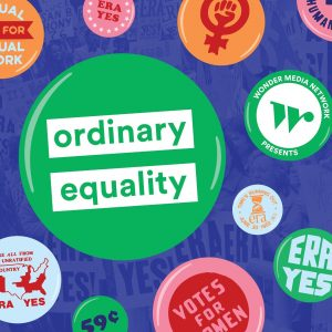 """Colorful poster """"ordinary equality"""""""
