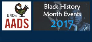 AADS Co-sponsors Black History Month Banner Image
