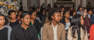 McNair Scholars at Induction Ceremony