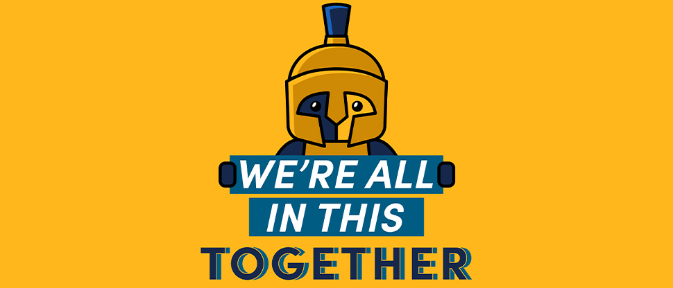 We're all in this together Spartan picture